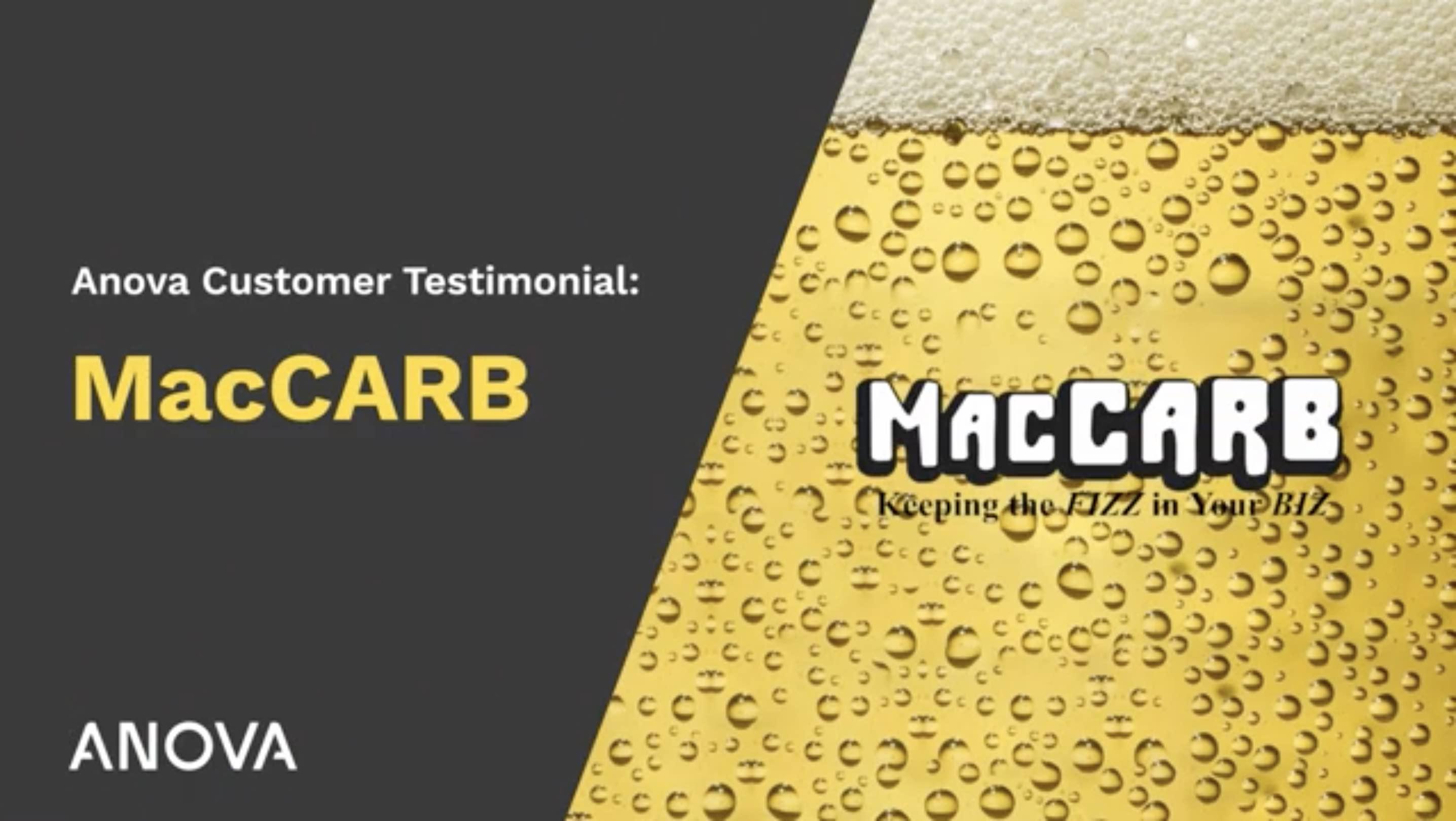 MacCarb Testimonial