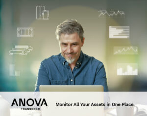 Anova Transcend for industrial gases asset monitoring and management